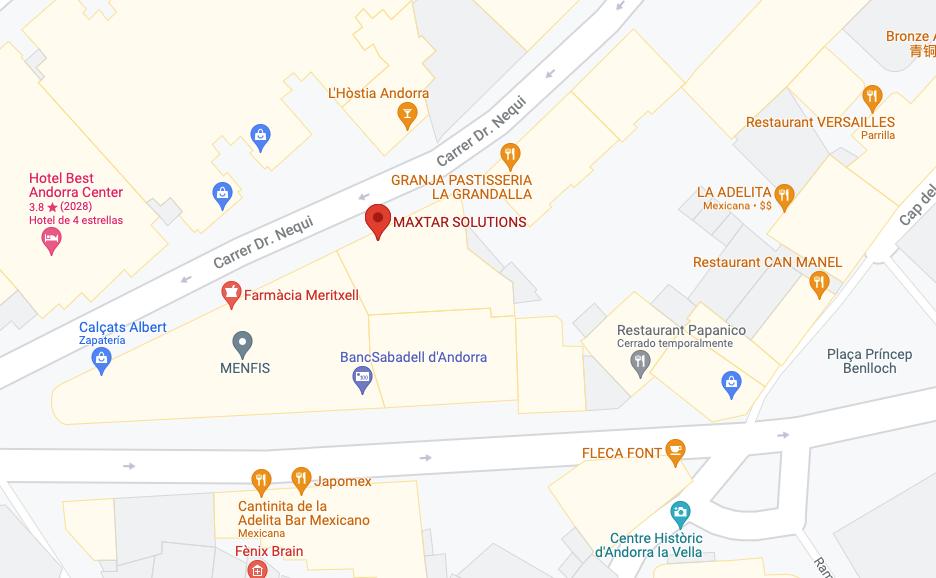 maxtar on google maps